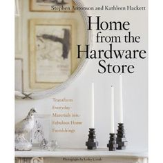 make cool things for your home from items at the hardware store