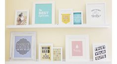 Create A Perpetual Inspiration Wall For Under $50!