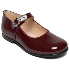 patent girls shoes yolaine by menthe et grenadine ...