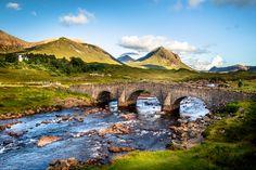 Scottish Highland Bridge by YuriFineart #xemtvhay