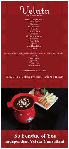 #Velata #Premium #Chocolate   www.sofondueofyou.velata.us