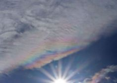 Pearlescent clouds