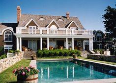 "georgianadesign: ""Custom home on Fishers Island, NY. Rudolph Architects, Denver CO. """