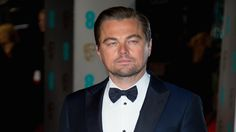 Leo gets an Oscar! Although its a homemade one from his Russian fans