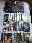 Microsoft Xbox 360 Holiday Bundle 250 GB Black Console Bundle with 26 games