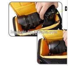 Shenzhen Supplier - Cool Camera Case Best Camera Bags for Nikon D90, D7000 , D3100, D3200, D5100 $5.9~$6.1