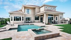 Toll Brothers - Dalenna- love the landscaping and pool design  Casabella, Windermere