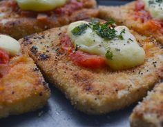 Cantinho Vegetariano: Tofu à Parmegiana (vegana)