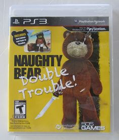 Naughty Bear: Double Trouble (Sony Playstation 3, 2012)