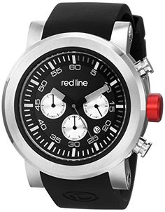 Men's Wrist Watches - red line Mens RL5005001 Torque Sport Analog Display Japanese Quartz Black Watch ** Learn more by visiting the image link.