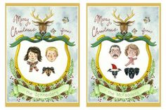 Custom House Portrait + Christmas Cards Giveaway - Weddbook
