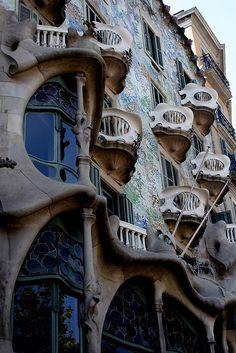 Casa Batlló, Antoni Gaudí - Barcelona, Spain
