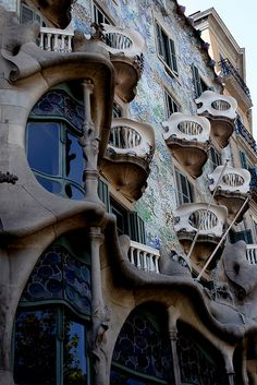 Casa Batllo (Gaudi) in Barcelona