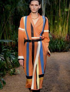 Hermes Silk Kimono Dress, Spring 2014