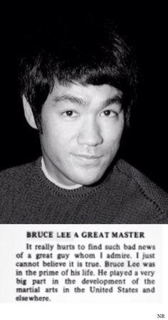 Bruce Lee:  He the Man ,  That Change The World.