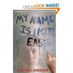 My Name is Not Easy by Debby Dahl Edwardson. Alaskan Inupiaq young people are forced or coerced to forsake their families and culture for a harsh parochial boarding school hundreds of miles away. Book Club Names, New Books, Books To Read, Realistic Fiction, National Book Award, My Name Is, Reading Levels, Way Of Life, Historical Fiction