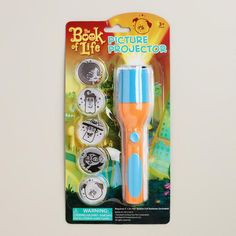 Book of Life Flashlight Picture Projector at Cost Plus World Market >> #WorldMarket Book of Life Shop