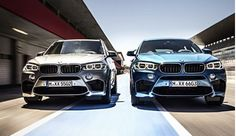 BMW launches two sports cars X5 M and X6 M
