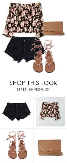 """""""Untitled #641"""" by karinasoto39 on Polyvore featuring WithChic, American Eagle Outfitters and MICHAEL Michael Kors"""