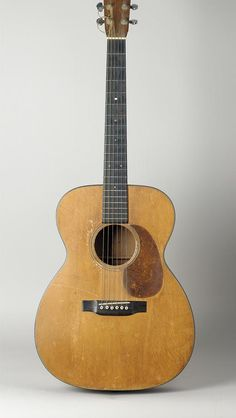 Woody Guthrie's Martin guitar, 1937. (Courtesy EMP Museum, Seattle, WA)