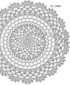 Transcendent Crochet a Solid Granny Square Ideas. Inconceivable Crochet a Solid Granny Square Ideas. Crochet Doily Rug, Crochet Circles, Granny Square Crochet Pattern, Crochet Flower Patterns, Crochet Diagram, Crochet Tablecloth, Crochet Chart, Easy Crochet, Crochet Stitches