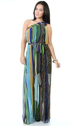 0f5d7c56a1 Zig Zag Maxi Dress www.laviahdollzfabutique.com   Lavish'tique ...