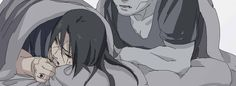 i don't get why is kisame sleeping next to itachi but this is very touching. i think i'm gonna cry