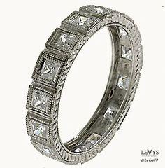 WB-293 #InfinityLine #vintagestyle #weddingring #stackable