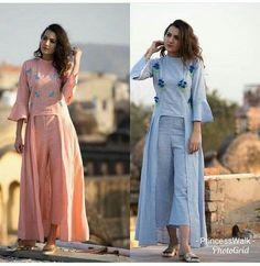 indian fashion Sari -- Press Visit link above for more options Kurta Designs, Blouse Designs, Simple Dresses, Casual Dresses, Fashion Dresses, Indian Dresses, Indian Outfits, Indian Designer Wear, Dress Patterns
