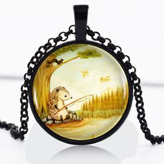 Find More Pendant Necklaces Information about Raccoon Fishing Logo Black Chain Women Choker Statement Black Pendant Necklace For Men Dress Accessories AB0831186,High Quality necklace white,China necklace orchid Suppliers, Cheap necklace stand from DreamFire Store on Aliexpress.com