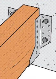 Cropped bottoms joist hangers more info here http www - Construccion de pergolas de madera ...