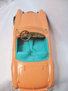 Original BARBIE Austin Healey car by Irwin 1962