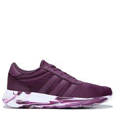 new concept 62f6a 026e7 Adidas Women s Neo Lite Racer Sneakers (Merlot White) - 5.0 M Adidas Neo