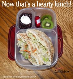 Pack lunch for work? Here's a yummy idea featured on Zoe's Lunchbox