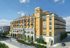 Construction is underway on the Regent Porto Montenegro hotel in Tivat, Montenegro, designed by ReardonSmith Architects