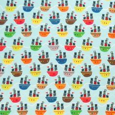 Sheetworld Pirate Ships Fitted Cradle Sheet Color: