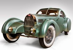 Bugatti 57SC Aerolithe, The Guild of Automotive Craftsmen, owned by David Grainger of Canada
