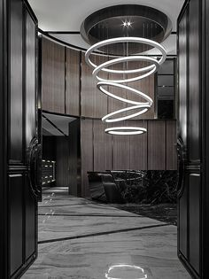 Floating Light Sculpture