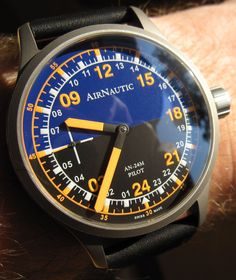 Yesterday, we started to take a look at the AirNautic (fromcovering some of the design inspiration for the watch, and why it's split out from the main line (or… Amazing Watches, Cool Watches, Watches For Men, High End Watches, Fine Watches, Gents Watches, Casual Watches, Men's Accessories, Best Affordable Watches