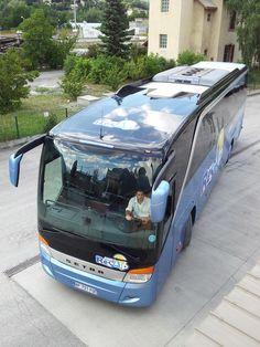 #Resalp, une flotte de véhicules tout confort pour les grands trajets internationaux et nationaux