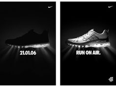 Outdoor/Out of Home Air Max Teaser & Reveal for Nike by SapientNitro Russia Headquarters, Moscow Graphic Design Trends, Ad Design, Graphic Design Inspiration, Teaser Campaign, Black And White Nikes, Web Inspiration, Creative Advertising, Best Sneakers, Motion Design