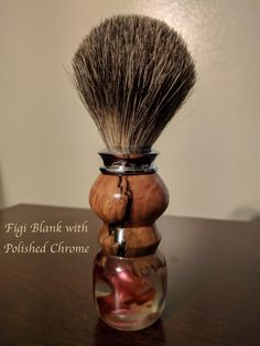 Custom orders available on our Etsy page! Badger Shaving Brush, Wet Shaving, Shaving Stand, Shaving Trimmer, Straight Razor, Picture On Wood, Wooden Handles, Wood Species