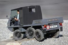 steyr puch haflinger with tracks and a winch as if this. Black Bedroom Furniture Sets. Home Design Ideas