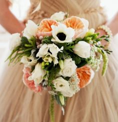 Love this springy bouquet