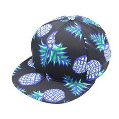 Shensee Neutral Design Pineapple Snapback Bboy Hat Adjustable Baseball Cap  Hip-hop Hat (black)  Package Content  br   Baseball Cap(without retail  package) 343ccba62906