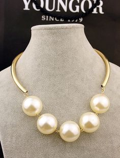 Fashion pearl accessories decoration accessories jewelry short design collapsibility collar necklace female