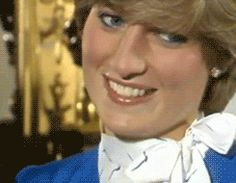 """1981 ~ """" Lady Diana Spencer on her engagement day in 1981. """" So beautiful and full of hope for the future."""