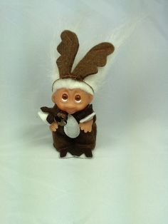 Vintage DAM Troll Doll Reindeer, I have this one