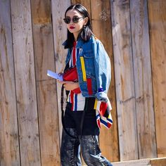 "* STYLE DU MONDE * ❤ on Instagram: ""#New on #STYLEDUMONDE http://www.styledumonde.com with @sherry_shen #SherryShen at #paris #fashionweek #pfw #marni #outfit #ootd #streetstyle #streetfashion #streetchic #streetsnaps #fashion #mode #style"""