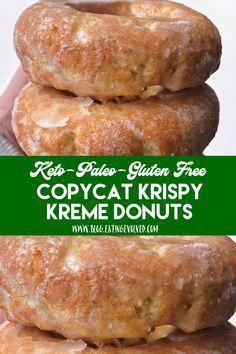keto dessert Having a Krispy Kreme donut and living a keto lifestyle are no longer mutually exclusive, so bake these very yeasty and addictive donuts with a crunchy, sugary exterior youll Low Carb Cake, Keto Cake, Low Carb Keto, Keto Cheesecake, Keto Donuts, Keto Cookies, Donuts Donuts, Keto Pancakes, Keto Peanut Butter Cookies